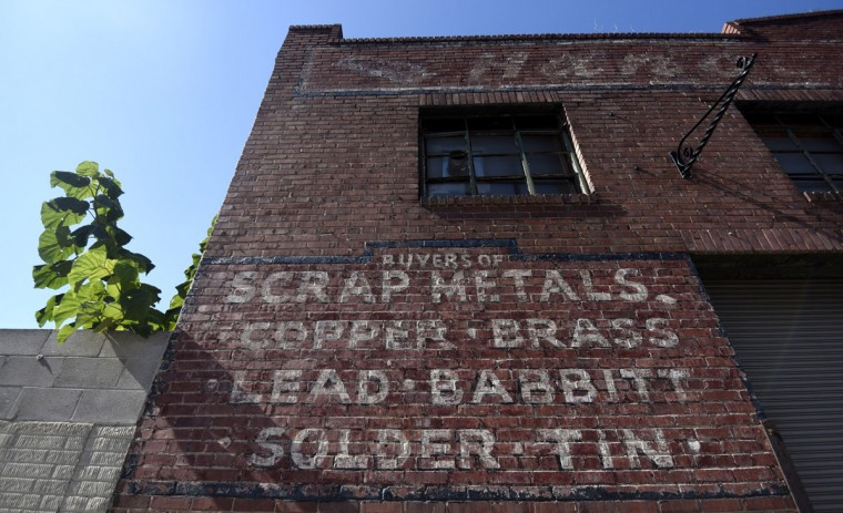 Former home of the S. Hanover Metal Co. (Kim Hairston/Baltimore Sun)
