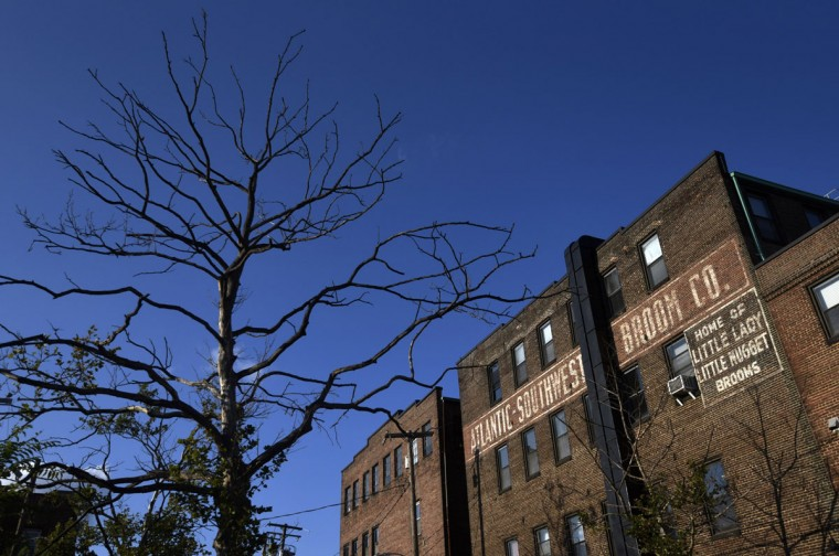 Atlantic-Southwestern Broom Company closed in 1989. The building, now called The Broom Factory, now houses retail, studio and office space. (Kim Hairston/Baltimore Sun)