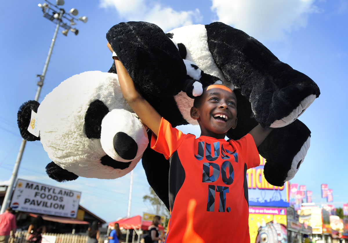 Ridemania at the Maryland State Fair