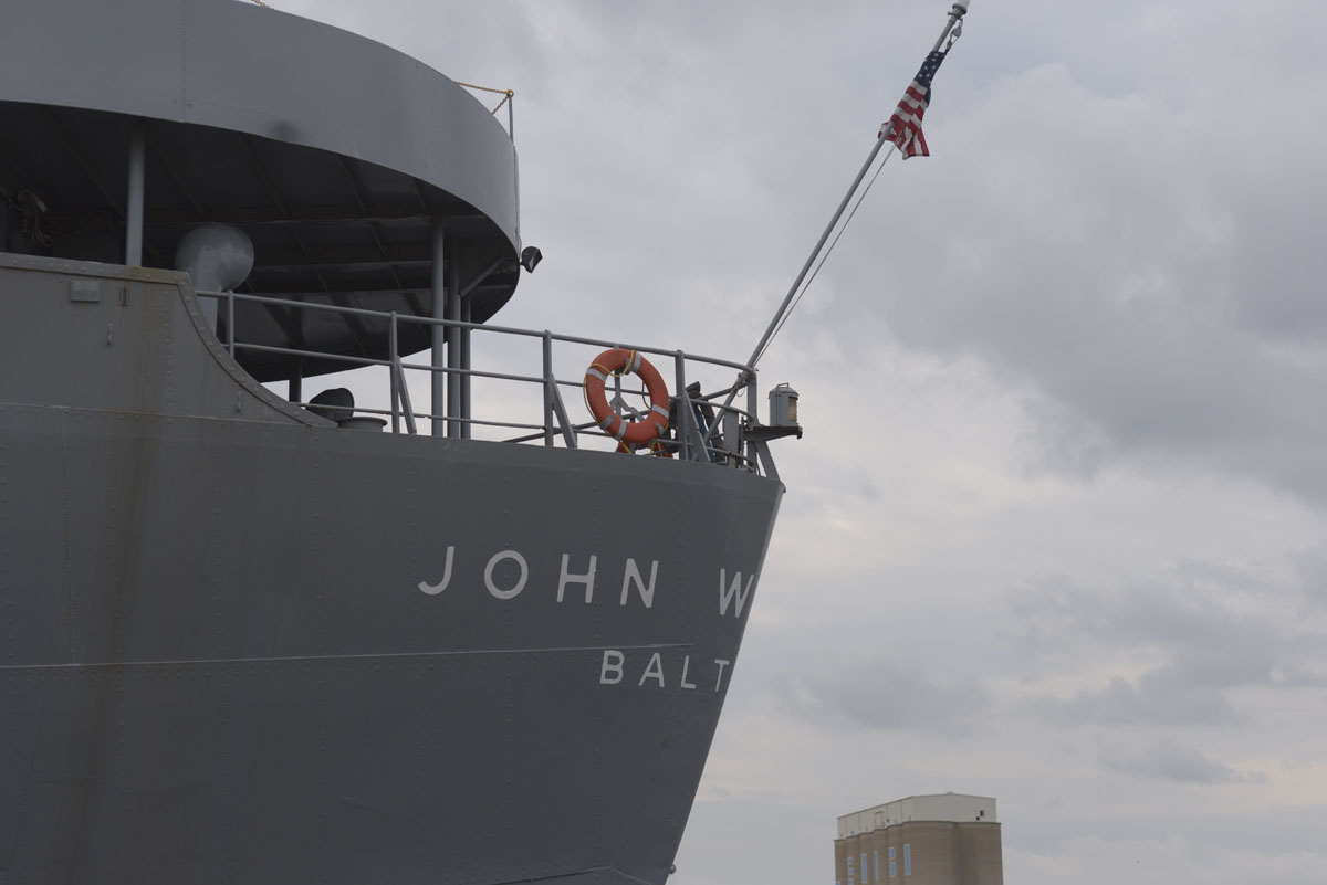 The John W. Brown Liberty ship at 75