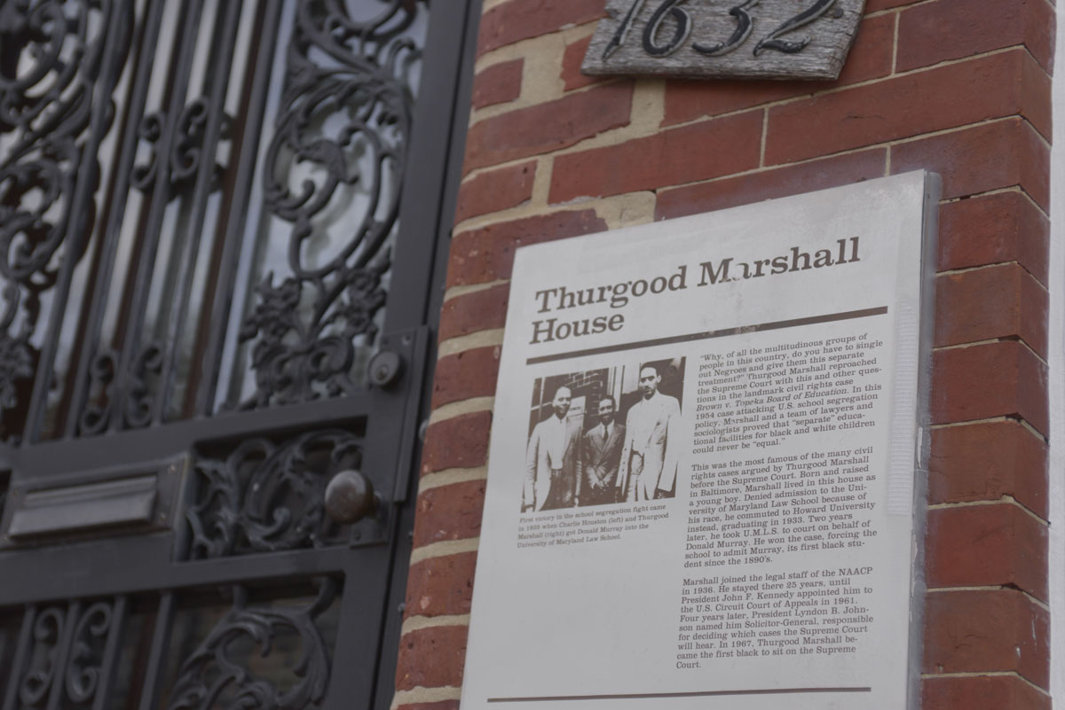 Thurgood Marshall's roots in Old West Baltimore
