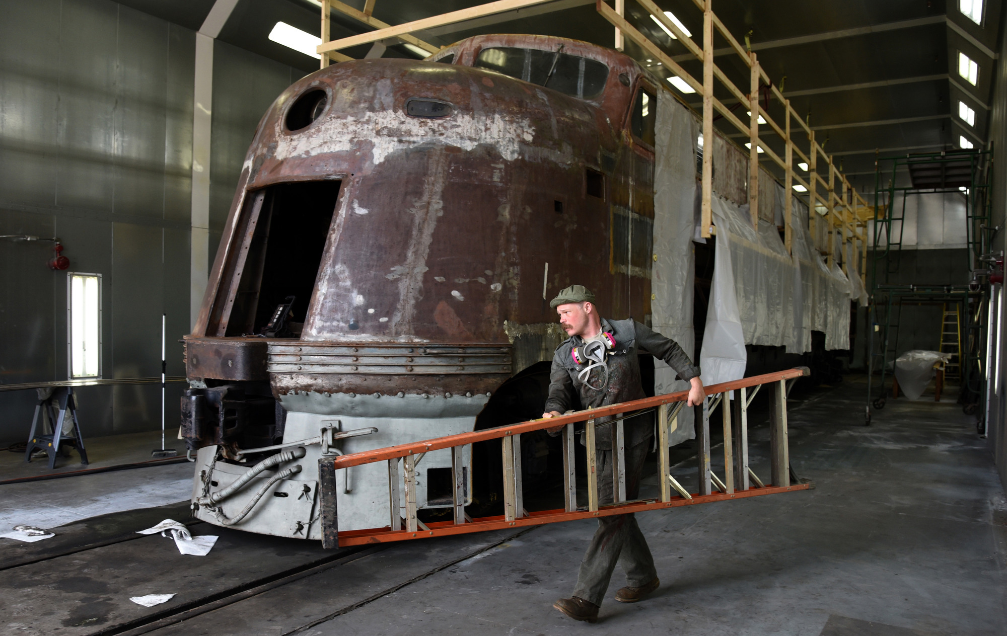 Reconstructing the past at the B & O Railroad Museum's restoration shop
