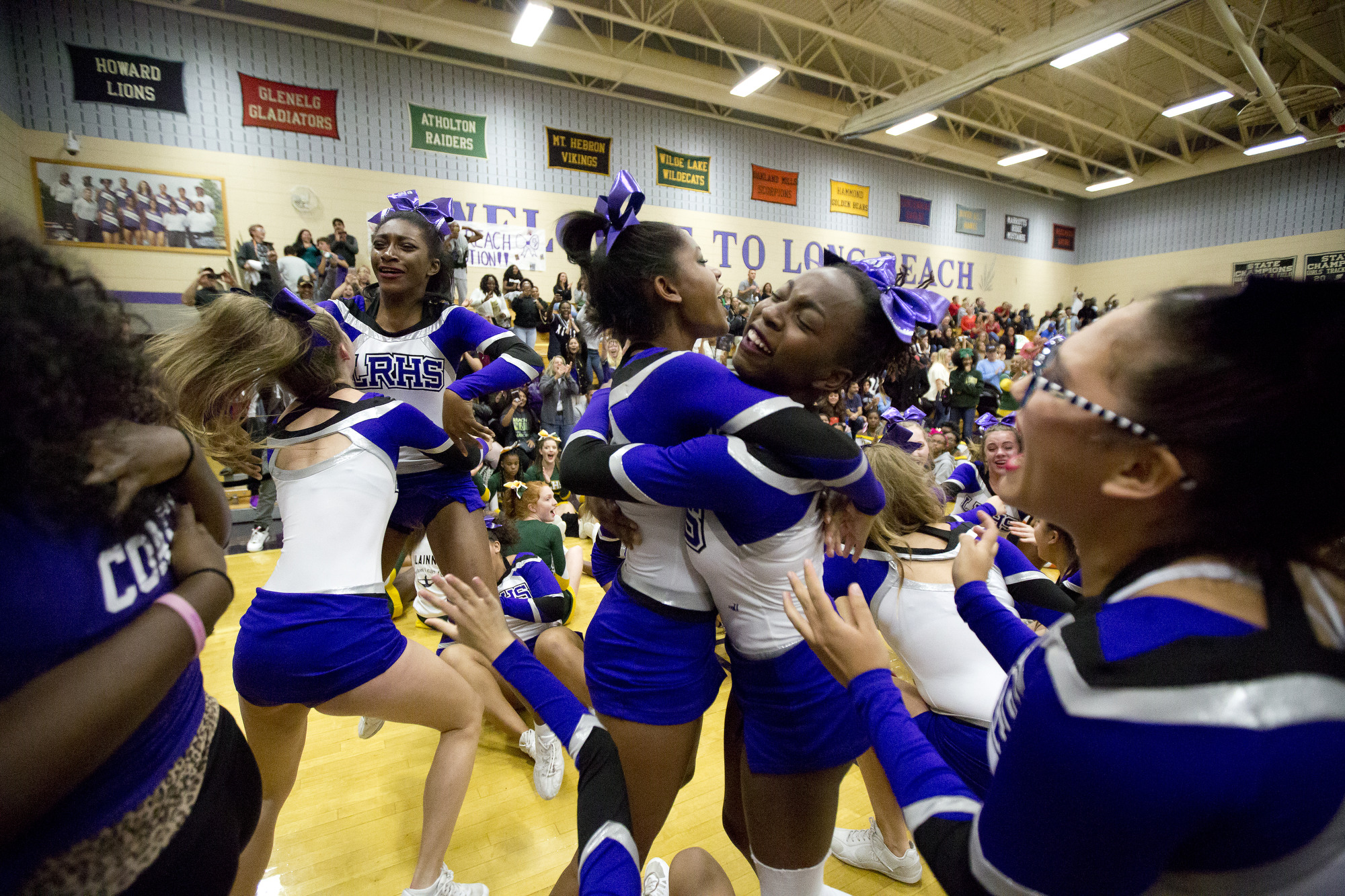 Lots to cheer about at the Howard County Cheerleading Championships