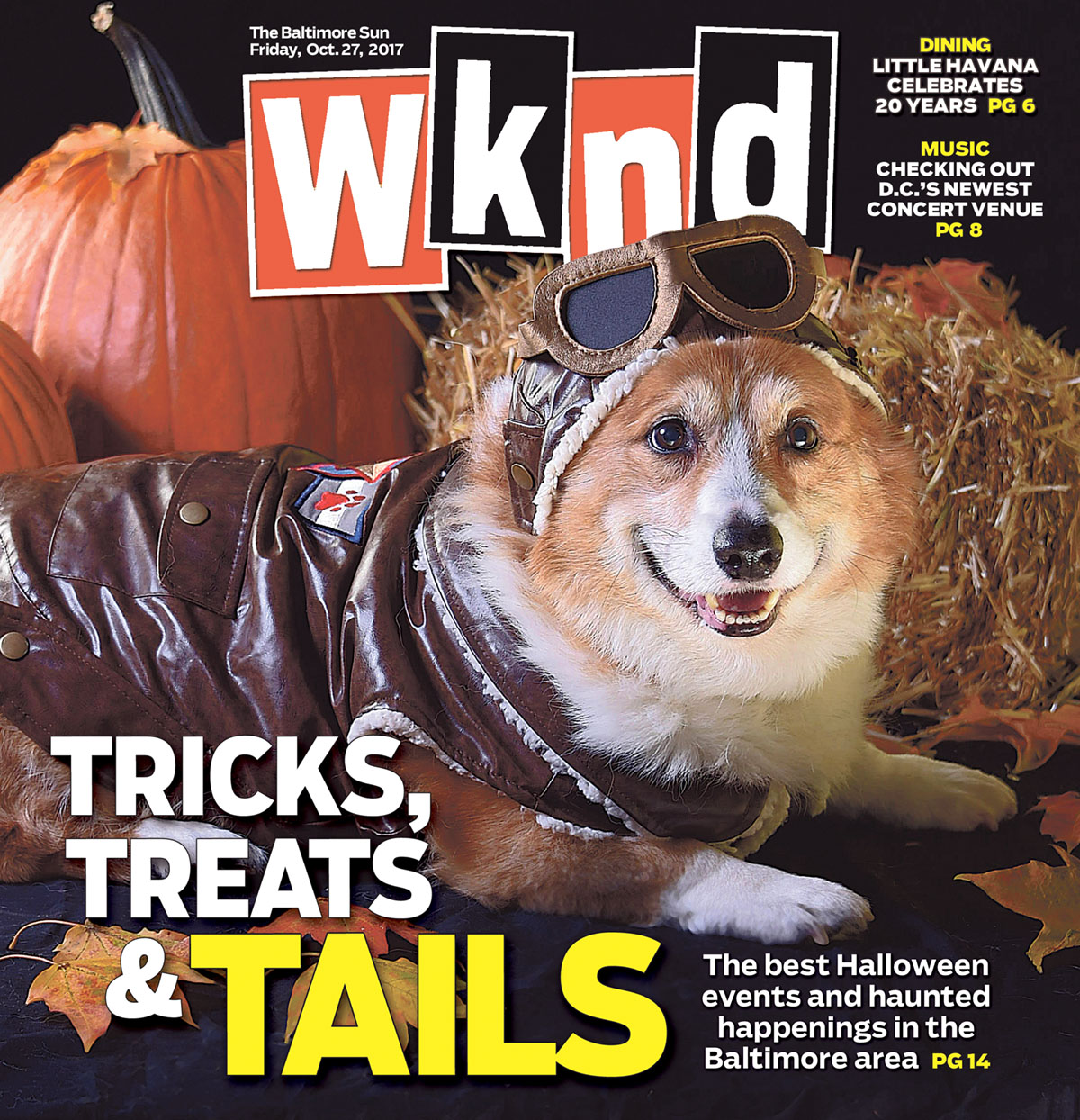 Behind the Wknd Halloween cover