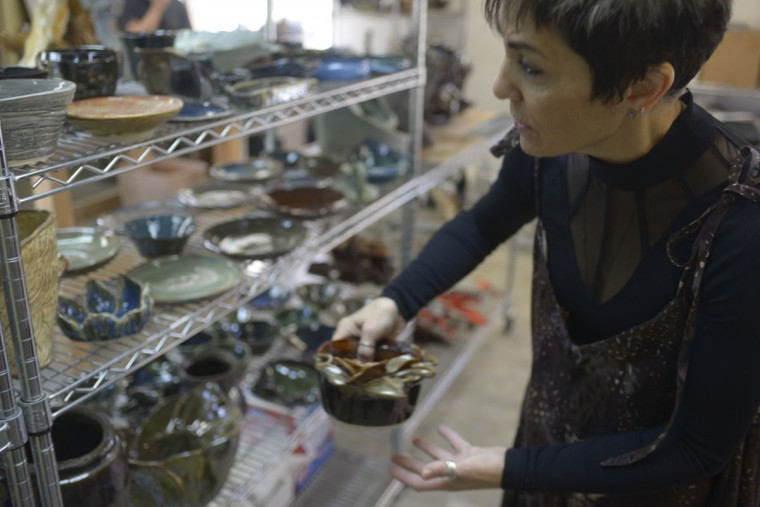 Renee Arambiges has no formal artistic training, but has always had a creative streak. It started with butter. She'd craft animal shapes around holidays. She later transitioned to clay, which doesn't melt. (Christina Tkacik/Baltimore Sun)
