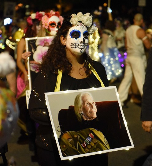 Tucson's All Souls Procession is an event meant to both celebrate and mourn the lives of those lost. (Jerry Jackson/Baltimore Sun)
