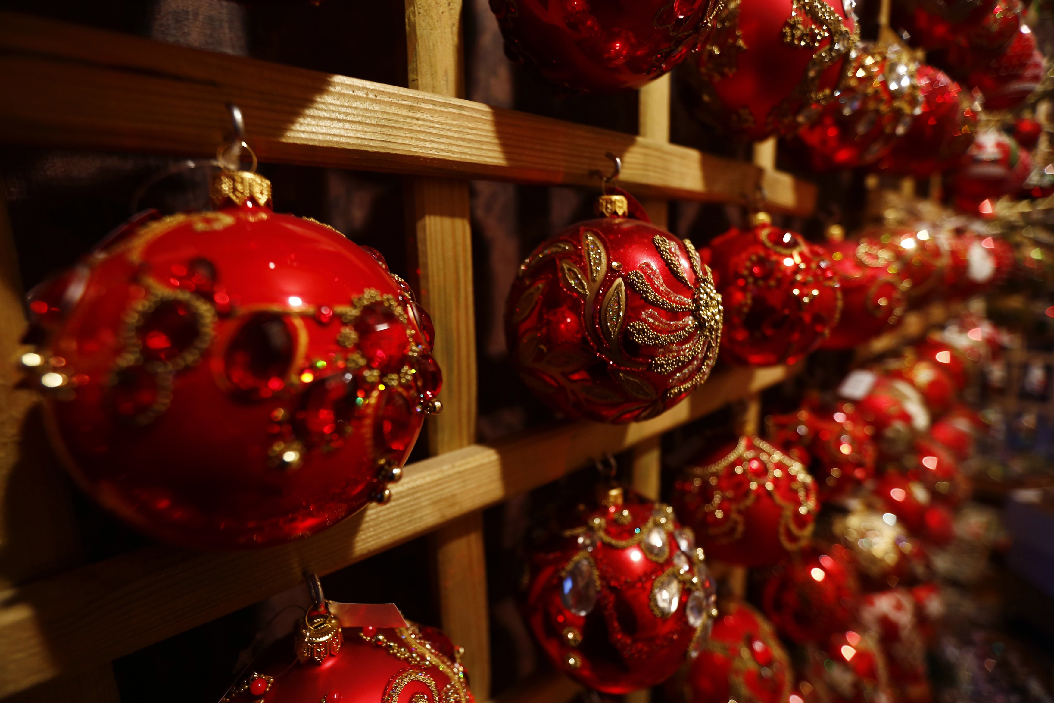 Hand-blown Polish Christmas Ornaments