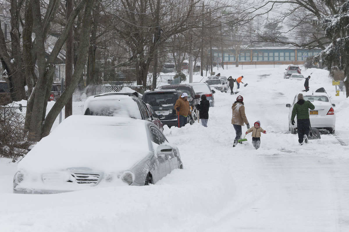 winter weather Winter Northeast