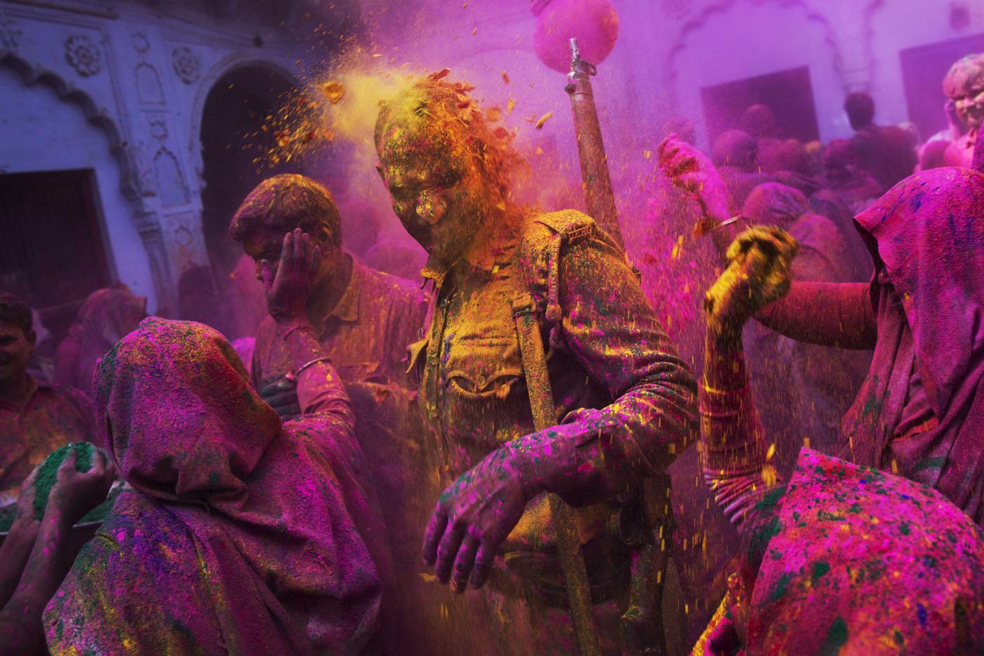 Holi Photo: Colors Fly As Holi Celebrations Begin
