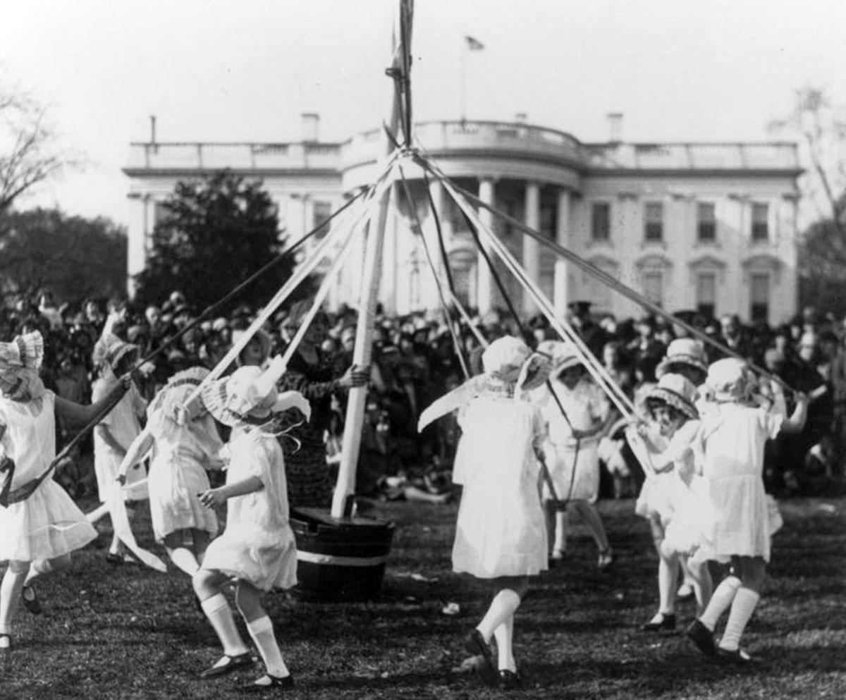 From the Vault: White House Easter Egg Roll 1920 White House