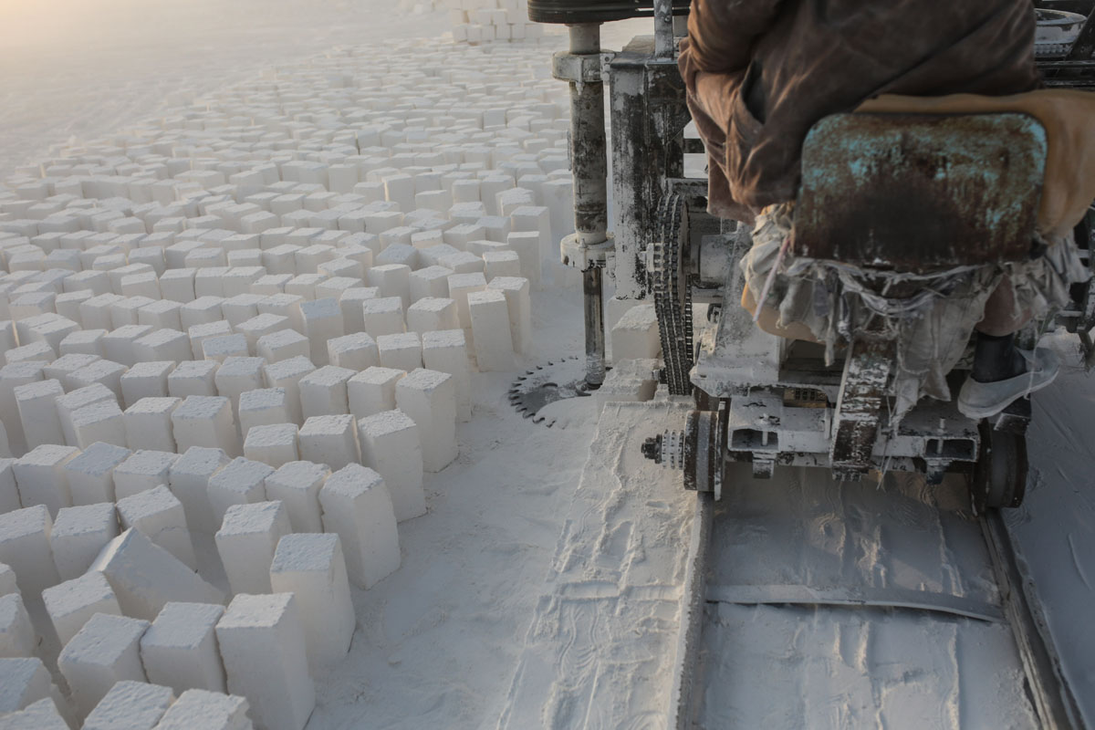 ap mideast quarry workers photo essay