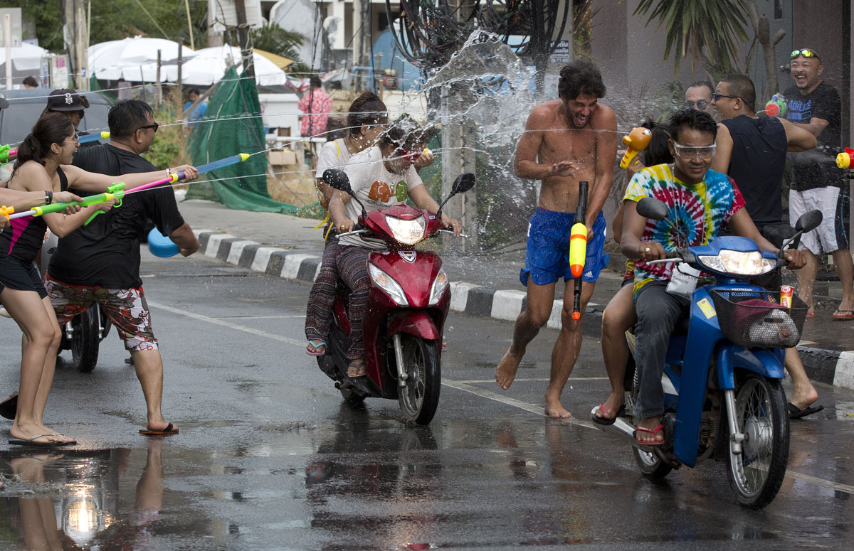 water festival thailand