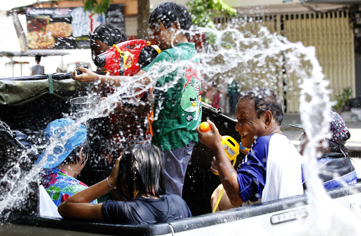 The Songkran Festival: Celebrating the Thai New Year