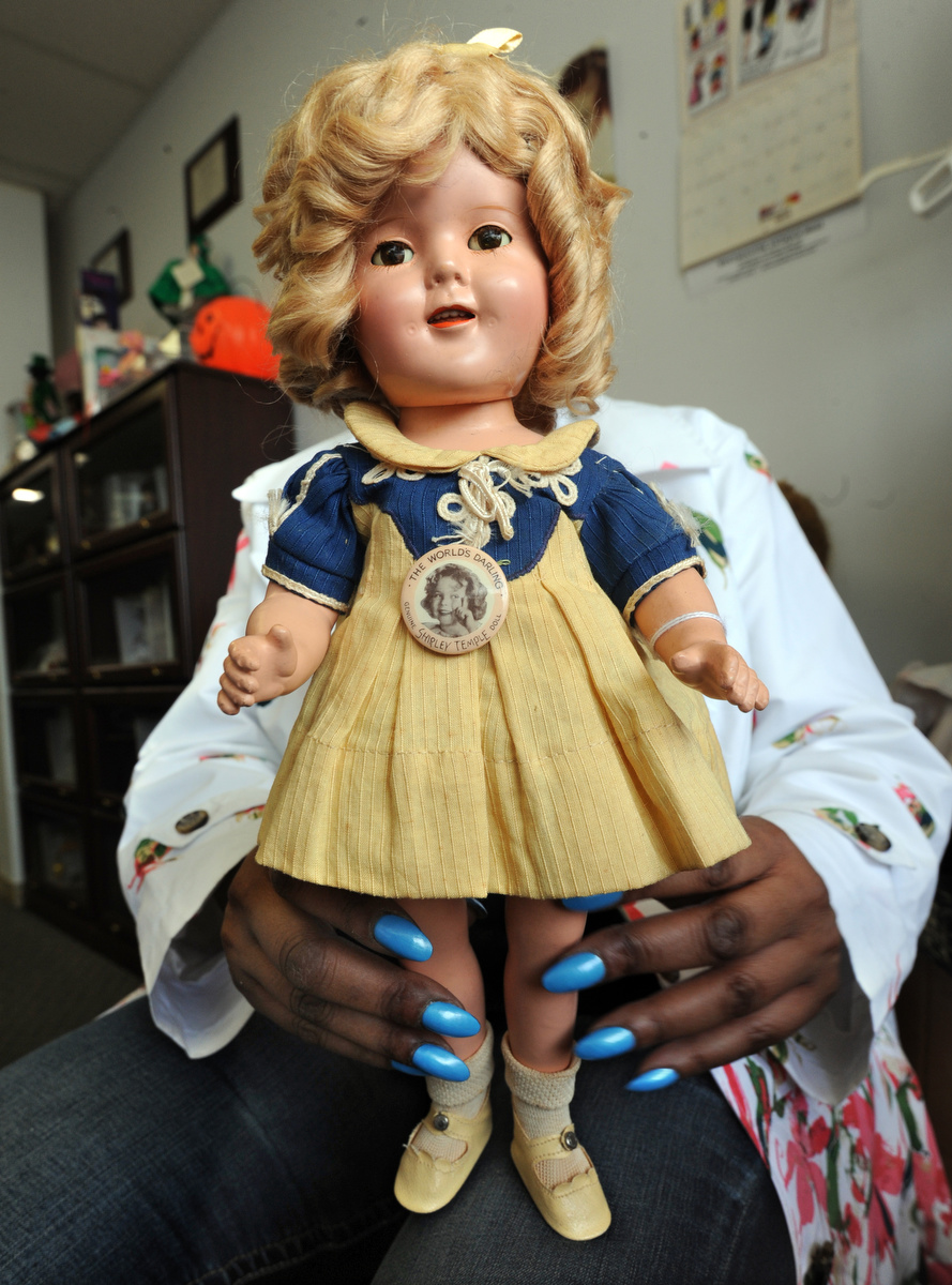 When It Comes To Doll Repair Sandy Hohne Does It All