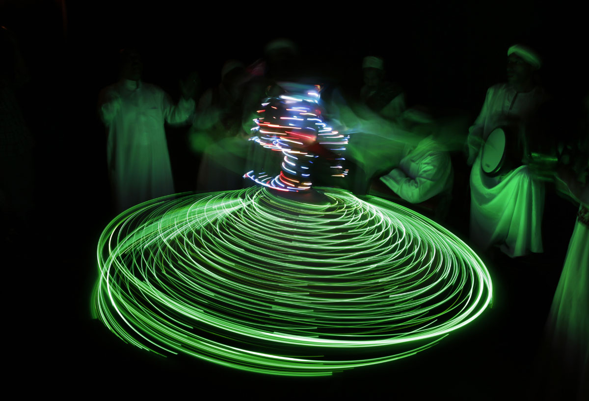 the whirling dervishes of cairo