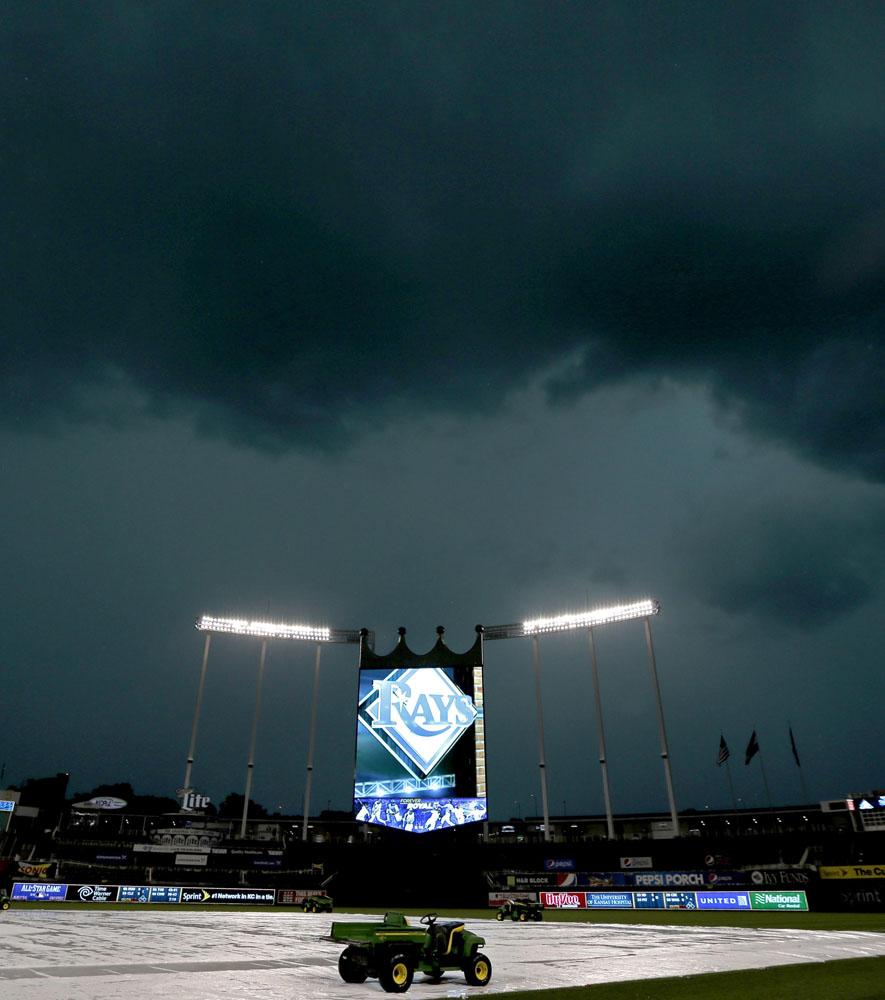 Error Log: AP APTOPIX Rays Royals Baseball