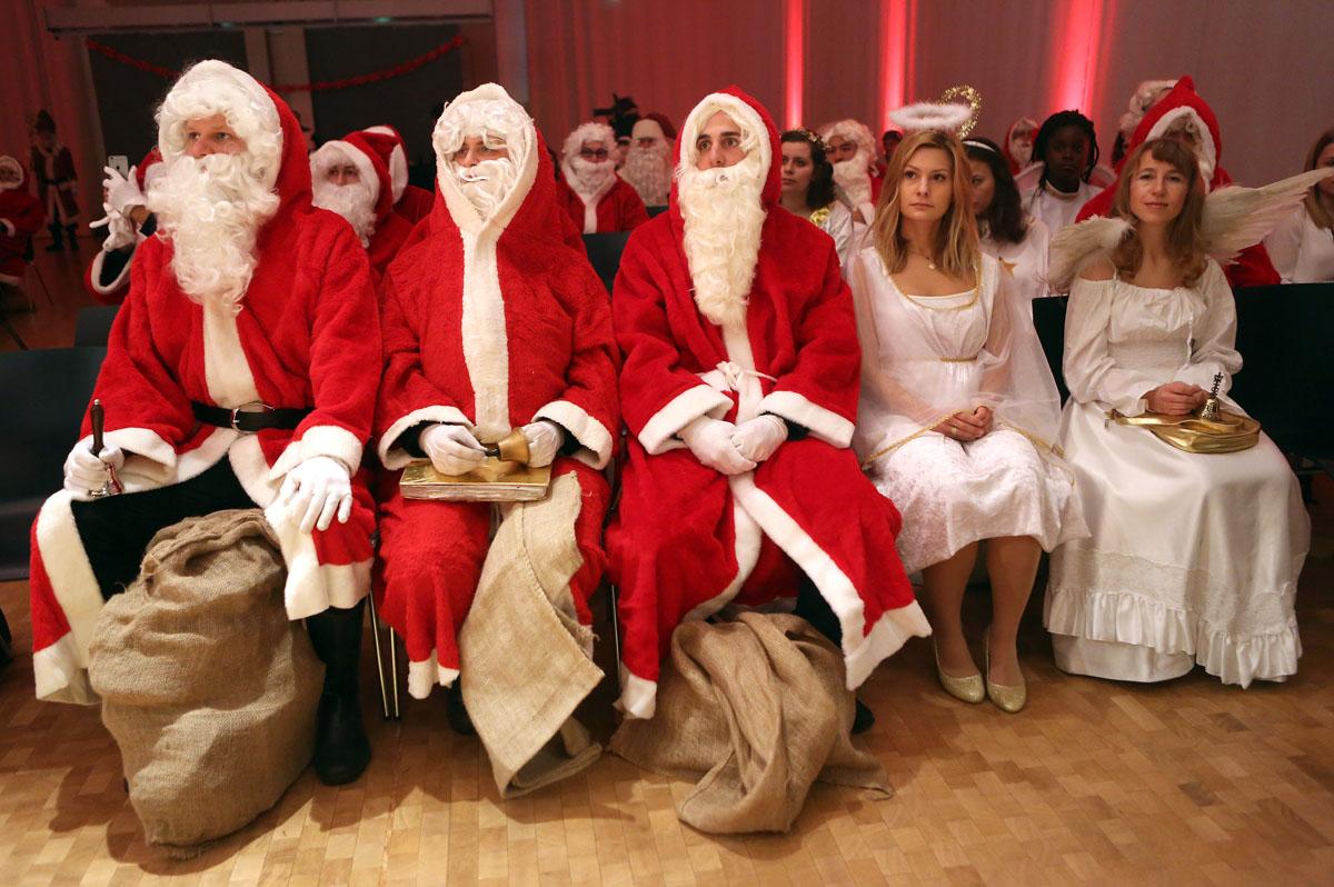 The Studentenwerk Berlin Santas