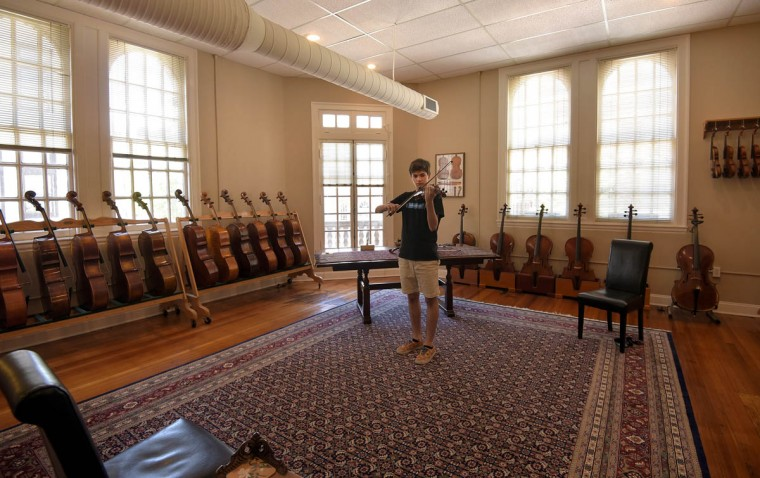 Keeping Music Alive At Perrin Amp Associates Fine Violins