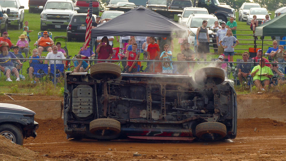Delighting Fans And Raising Funds At Demo Derby Day