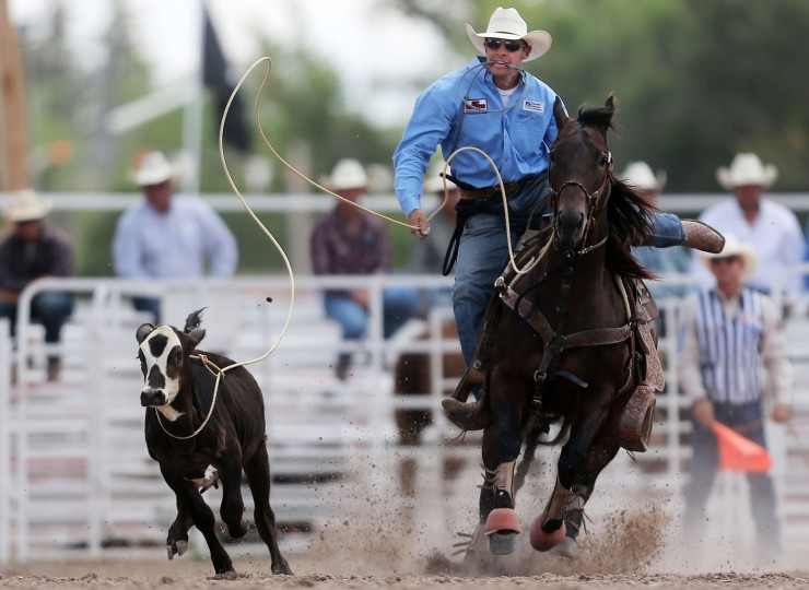 Cheyenne Frontier Days Rodeo In Wyoming