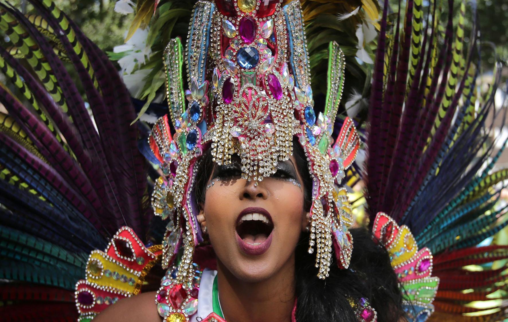 Caribbean Culture: BRITAIN-LIFESTYLE-CARNIVAL
