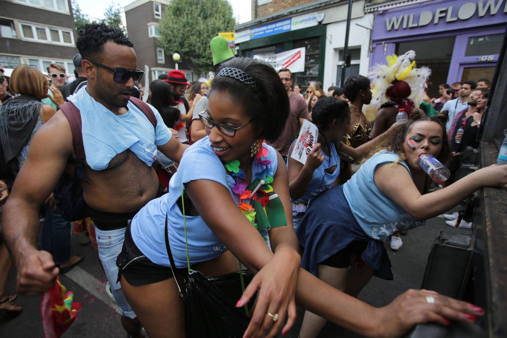 Caribbean People: Celebrating Caribbean Culture At London's Notting Hill