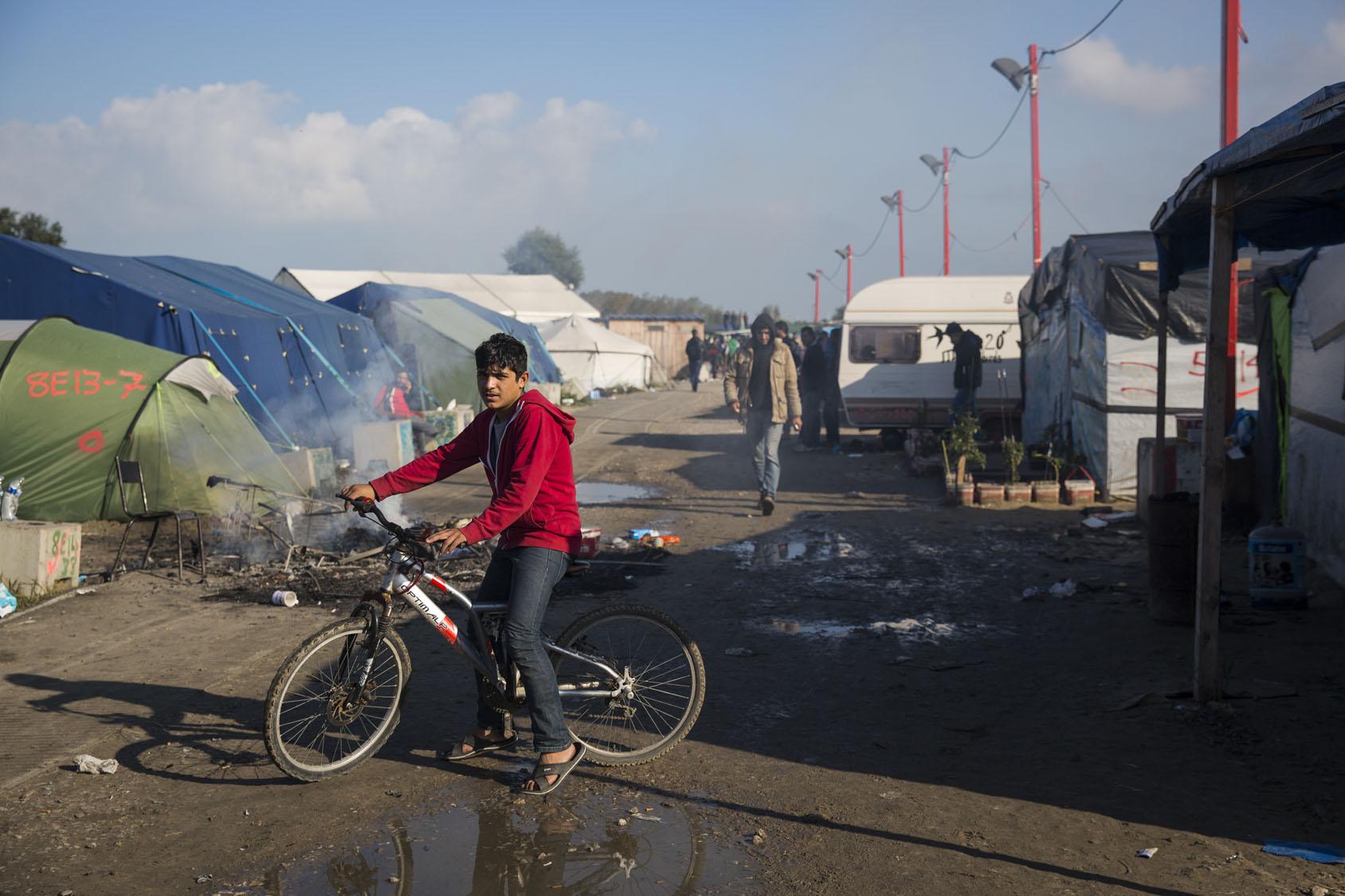 camp migrant calais