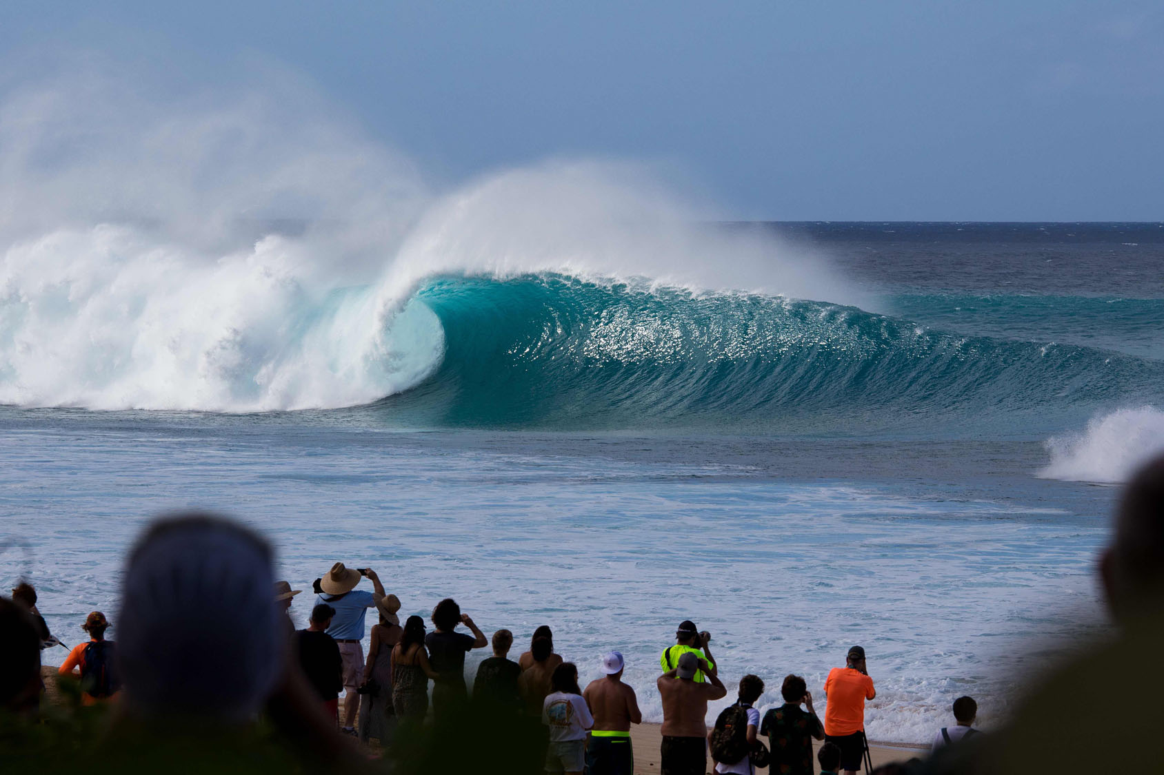 fe30a2256e Surfers hit the waves in Hawaii on Christmas Day