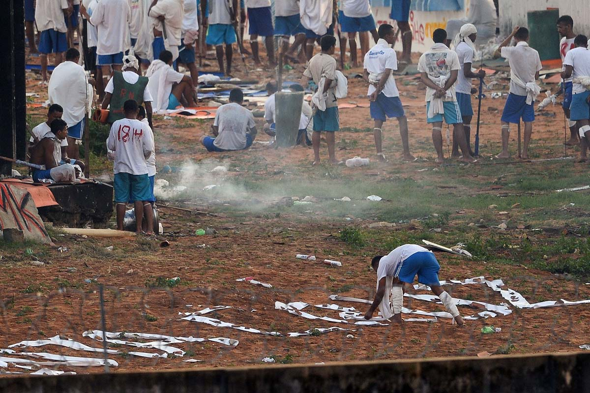 At least 56 killed in Brazil prison riot over drug turf, officials say