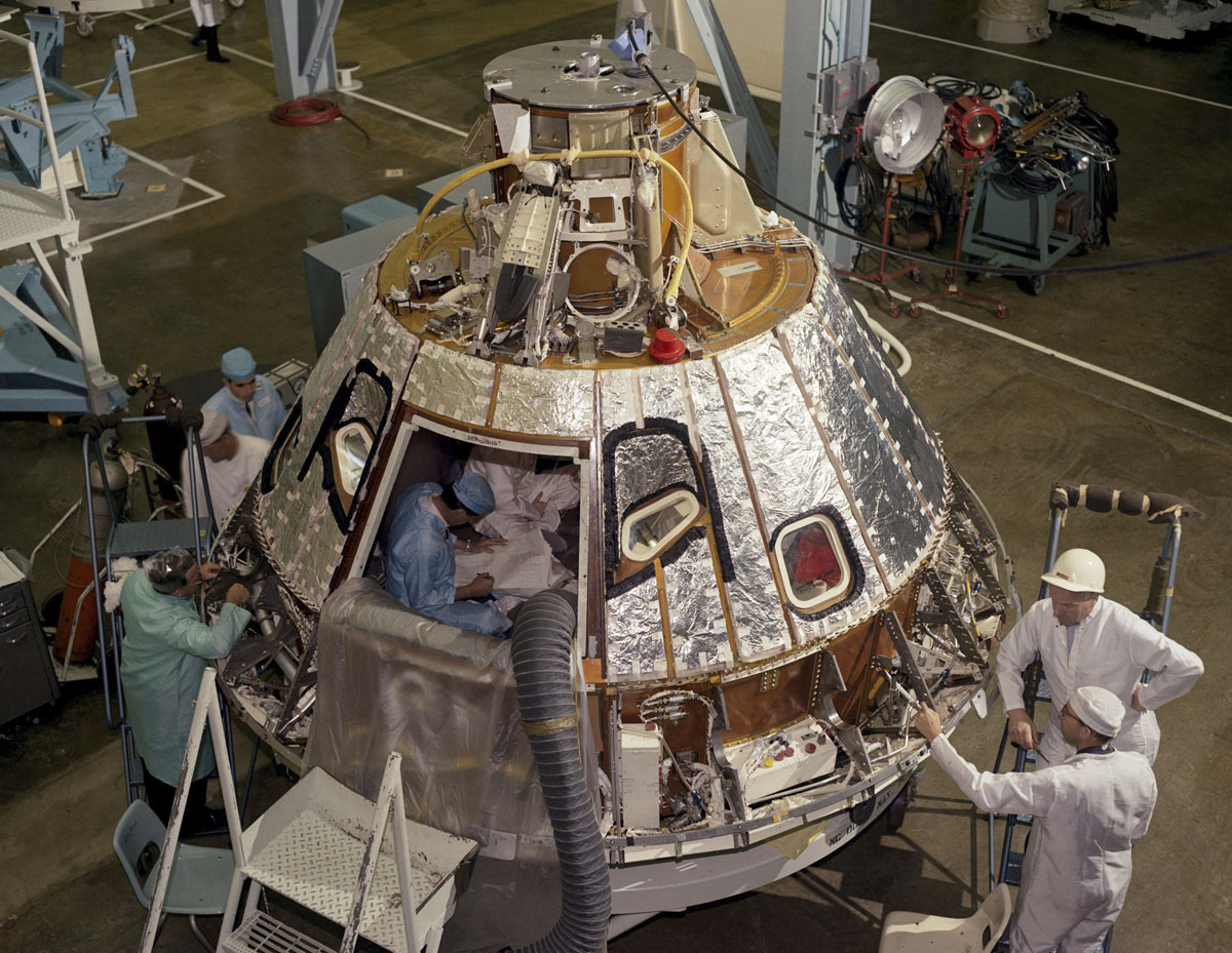 an apollo spacecraft - photo #22