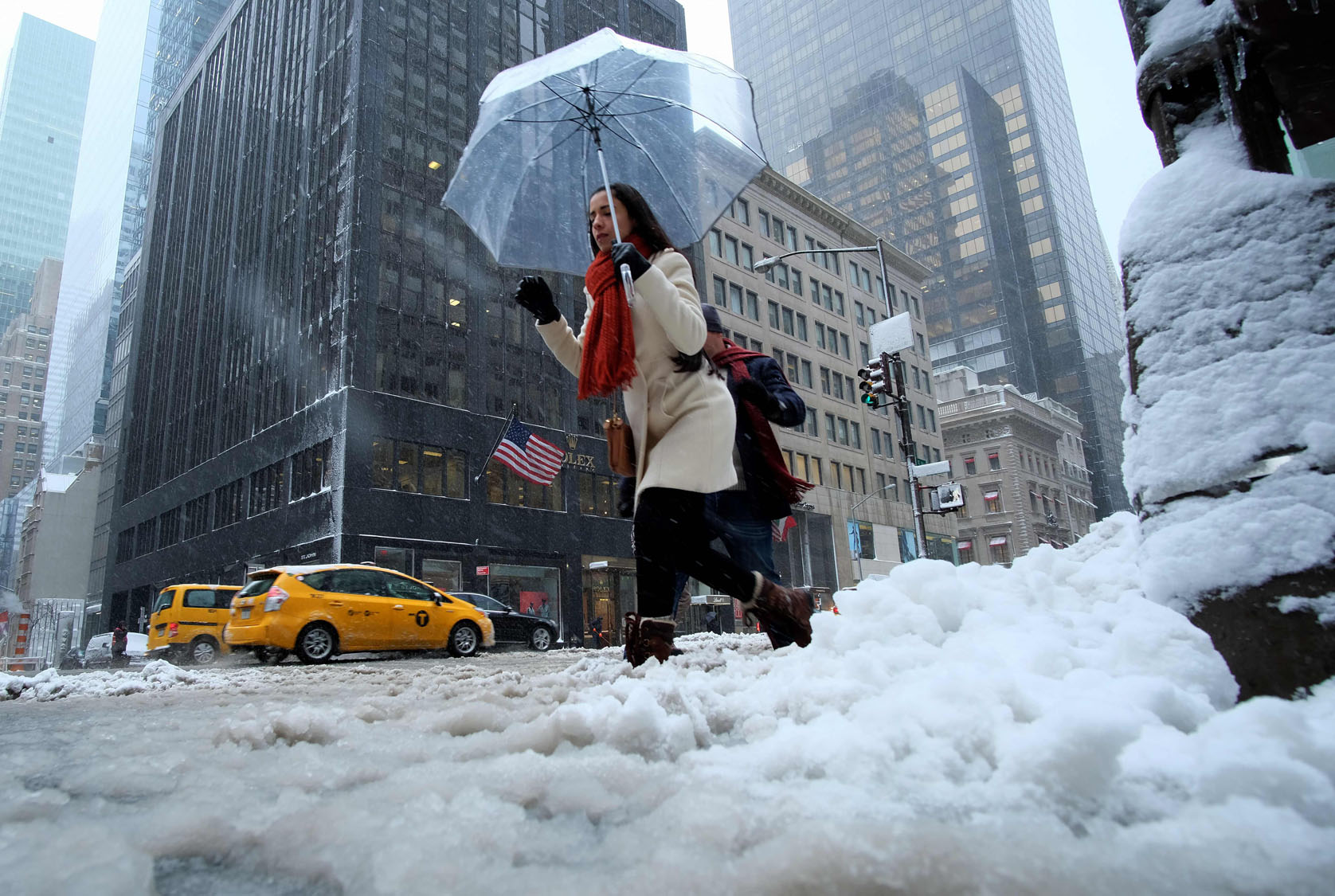 Winter Storm: Heavy Snow Hits The Northeast